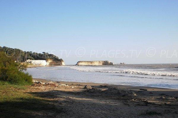 Plage des Vergnes à Meschers sur Gironde