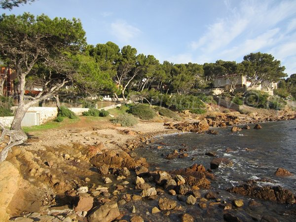 Plage de la Vernette à La Seyne sur Mer