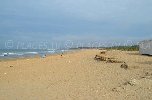 First aid station of Vert Bois beach - Oleron island