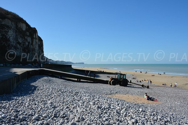 Veules les Roses beach  - Normandy