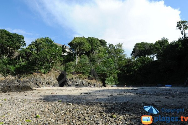 Vicomté beach in Dinard