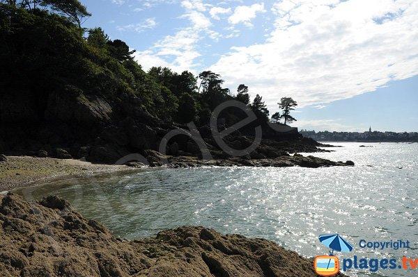 Prieure beach view from the creek - Dinard