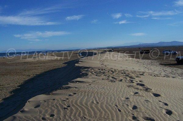 Dunes of Gruissan - Vieille Nouvelle beach