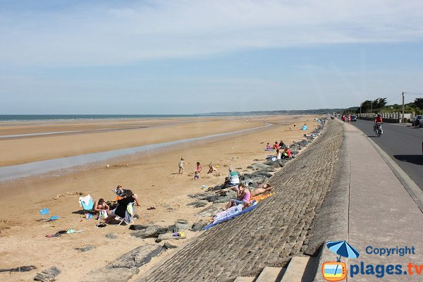 Vierville beach towards St Laurent - Normandy