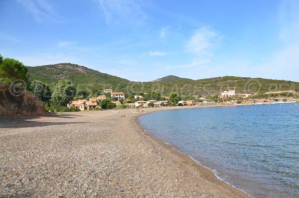 Plage dans le golfe de Galéria - Haute Corse