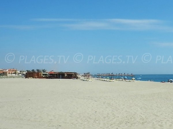 Photo of Village Sud beach in Port-Barcarès - France