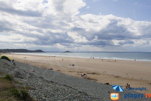 Photo de la plage de Ville Berneuf à Pléneuf Val André