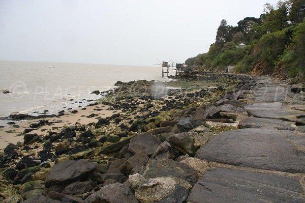 coastal footpath along Virechat beach - Saint-Nazaire