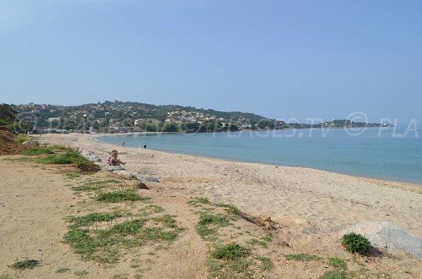 Viva beach and view on Porticcio - Corsica
