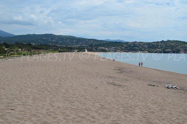 Photo of Viva beach in Porticcio next to Capitello tower