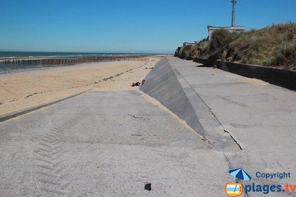 Photo de la plage des Voiliers à Sangatte