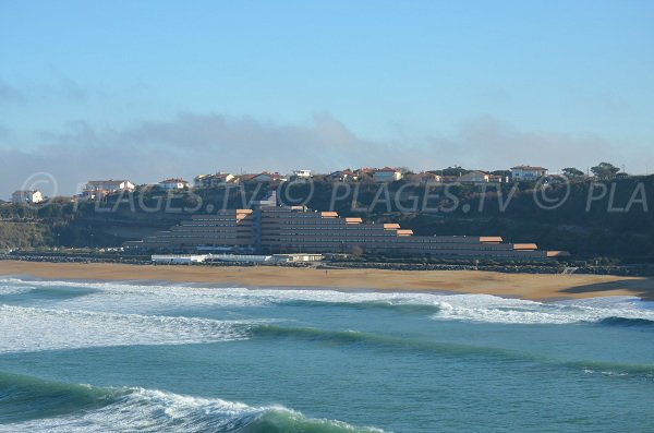 Holiday center of VVF in Anglet beach