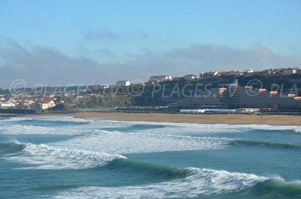 Centro Anglet e le spiagge