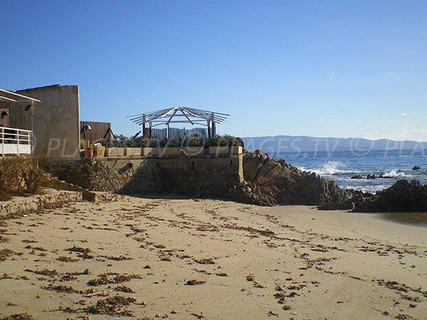 Restaurant sur la plage Week-End à Ajaccio
