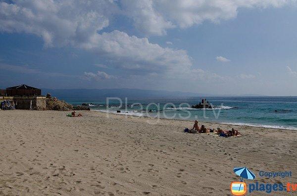 Paillote spiaggia Week-End Ajaccio