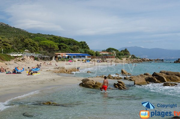 Photo of Week-End beach in Ajaccio in summer