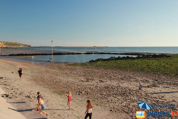 Swimming pool on the Wimereux beach