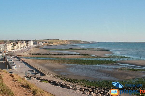 Photo of Wimereux beach in France