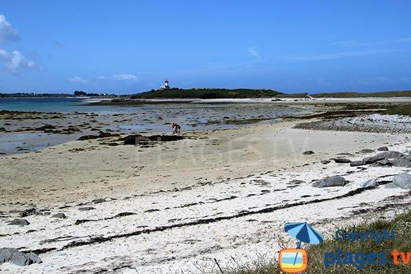 Photo de la plage de Wrac'h à Plouguerneau
