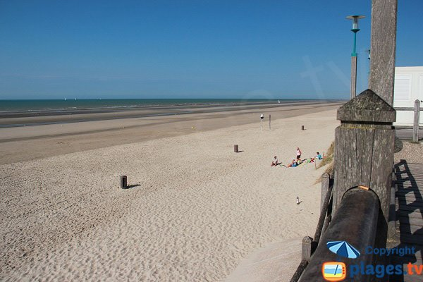 Photo of Zuydcoote beach in France