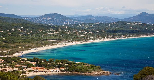 Pampelonne Bay on the French Riviera