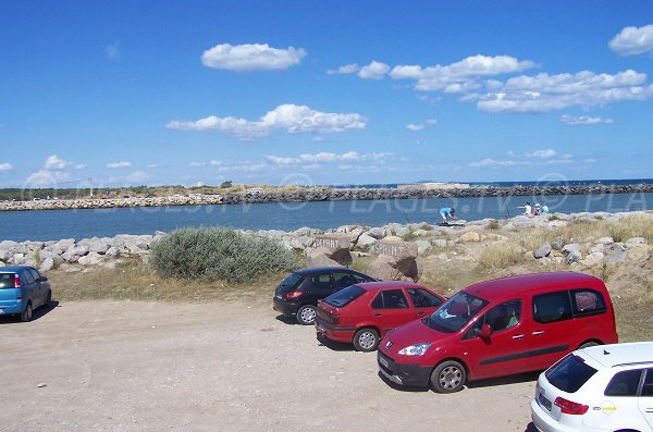 Parking of Cabanes de Fleury
