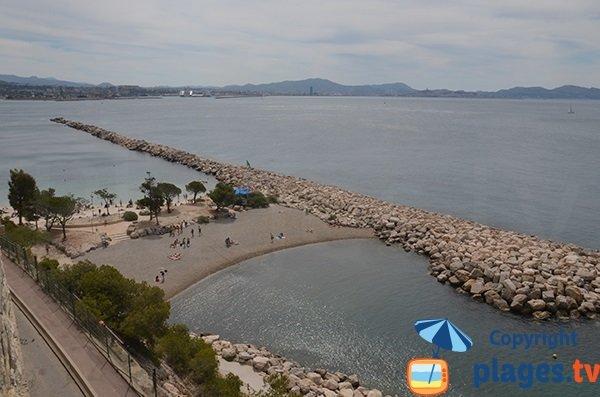 Plages de la Batterie et du Fortin à L'Estaque - Marseille