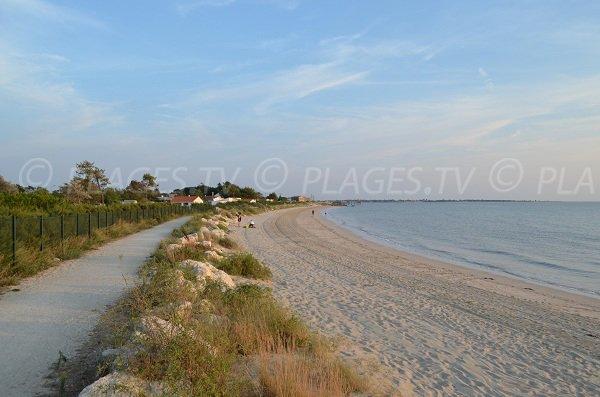 Foto della spiaggia l'Espérance a Fouras in Francia