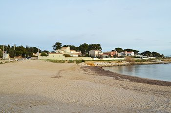 Sausset les Pins beach - France