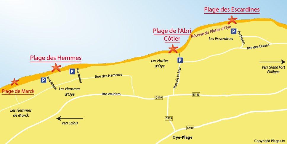 Plan d'Oye Plage