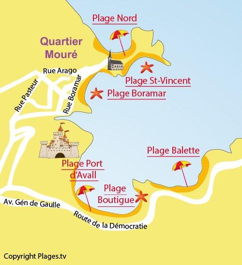Plage de la balette collioure 66 pyr n es orientales - La plage parisienne port de javel haut ...