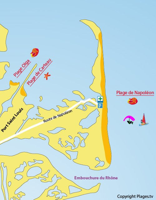 Plage napol on port saint louis du rh ne 13 bouches du - Office du tourisme port saint louis du rhone ...