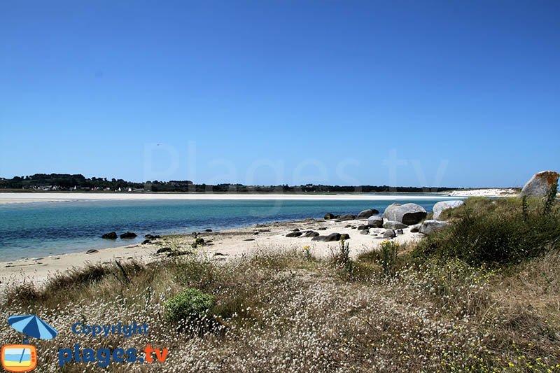 Plouescat et sa plage de Kernic