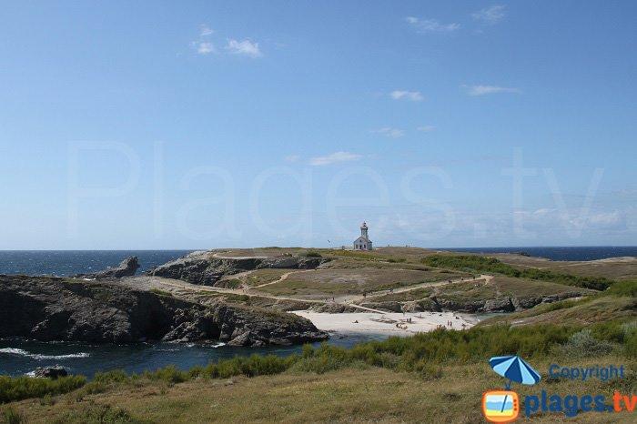 Pointe des Poulains à Belle Ile