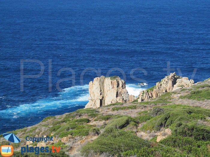 Pointe de Puntiglione à Cargèse