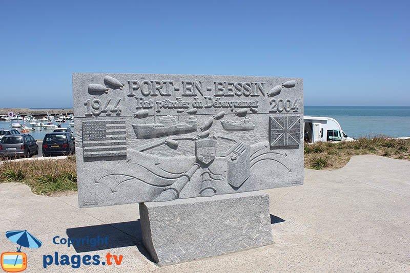 Oil port of the landing in Normandy - Port en Bessin
