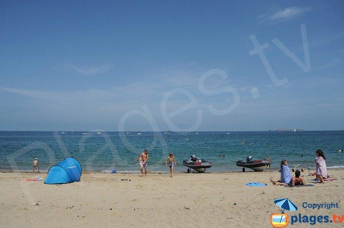 Port Blanc and its beach - Dinard