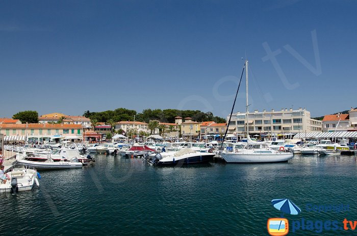Port of Brusc in south of France - Six Fours les Plages
