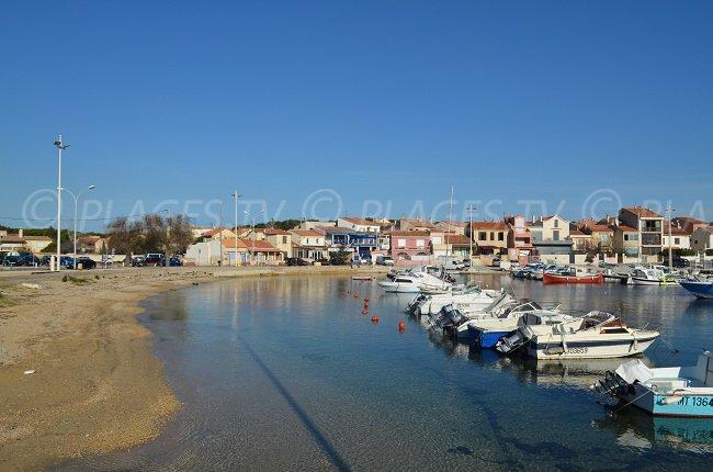 Port de Carro dans les Bouches du Rhône