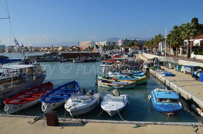 Port of Cros de Cagnes - France