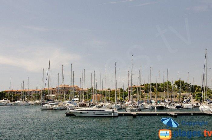 Port of Embiez Island