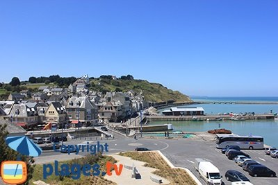 Beaches In PortenBessinHuppain France Seaside Resort Of - Location port en bessin