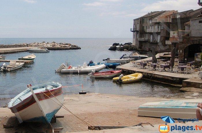 Port d'Erbalunga dans le Cap Corse