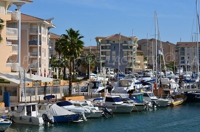Port Fréjus in France