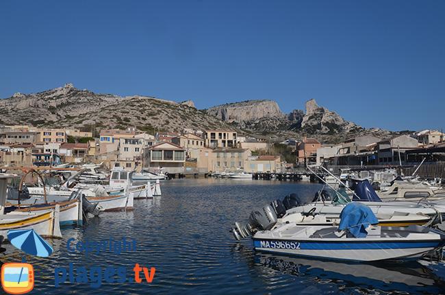 Port des Goudes à Marseille