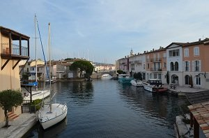 Port Grimaud in France