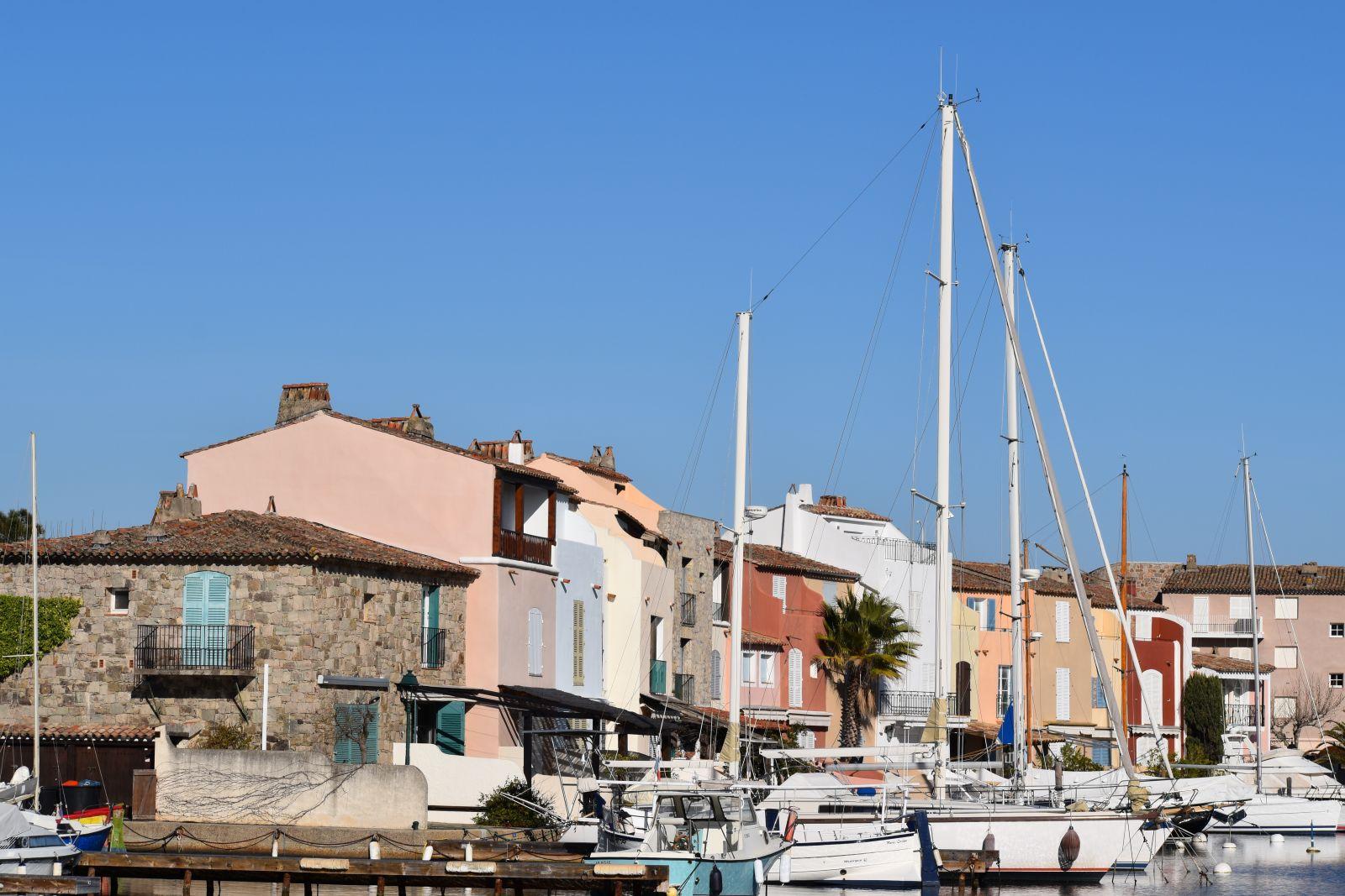 Maisons colorées de Port-Grimaud