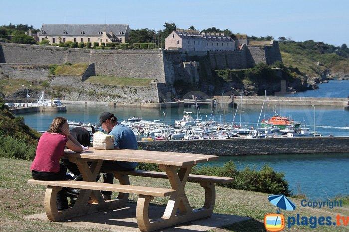 Port du Palais à Belle Ile