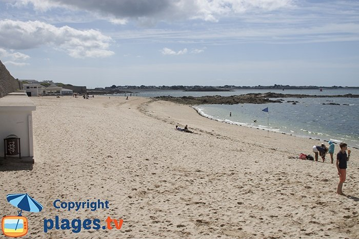 Port Louis and its beach - France