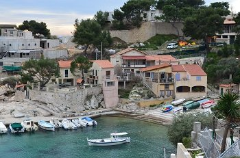 Port de Niolon près de Marseille sur la Côte Bleue